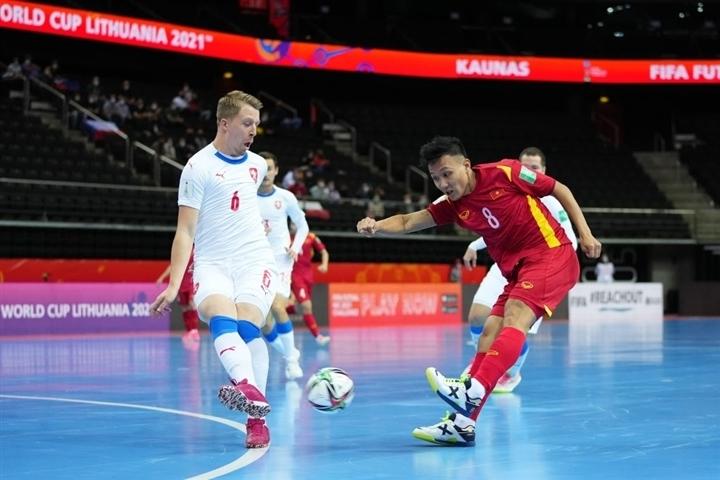 ĐT futsal Việt Nam vs Czech - Ảnh 1.