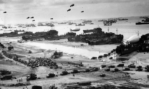 2 triệu lính Đồng minh đổ bộ lên bờ biển Normandy - Ảnh 3.