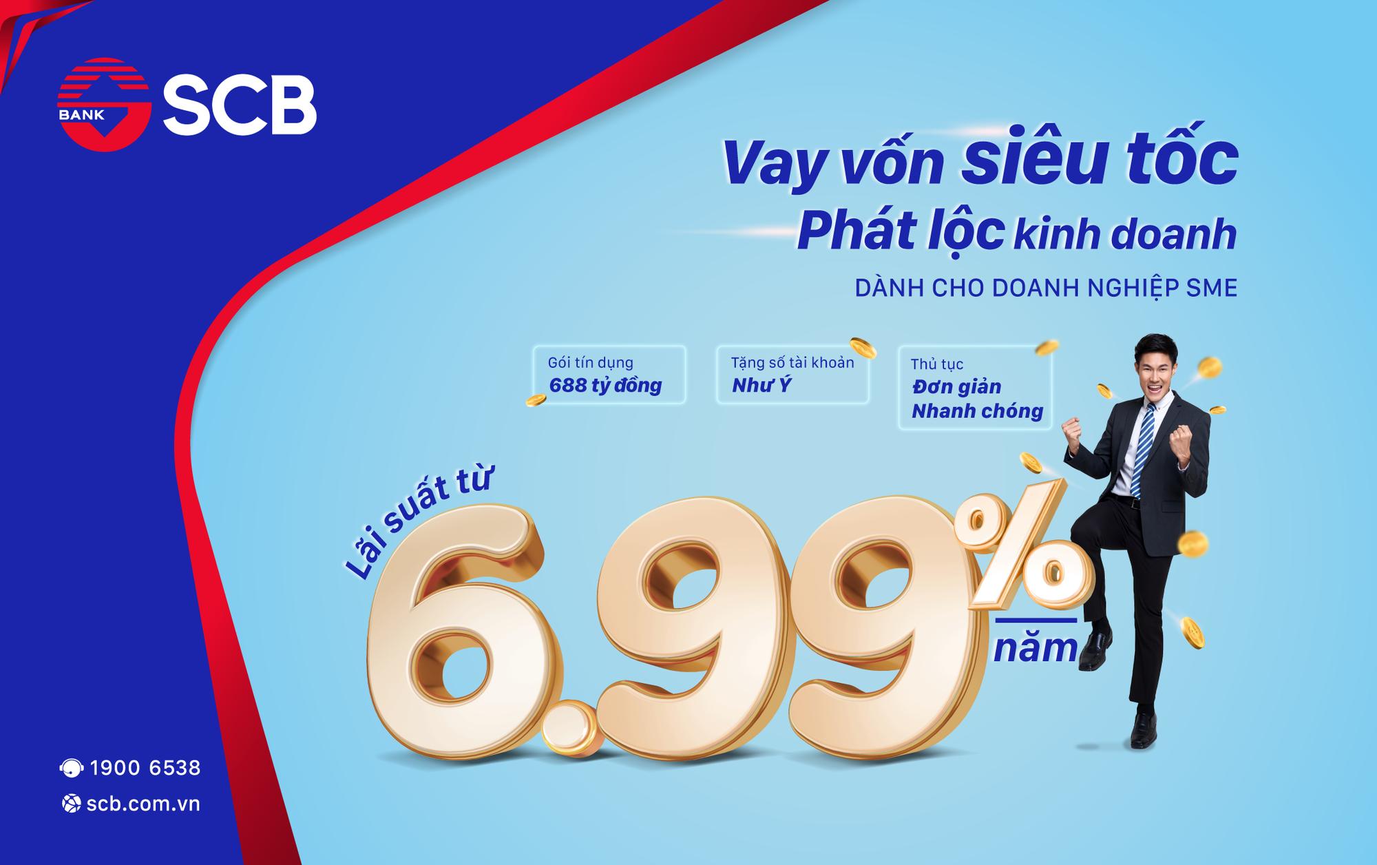 SCB triển khai gói cho vay siêu tốc dành cho doanh nghiệp SME - Ảnh 1.