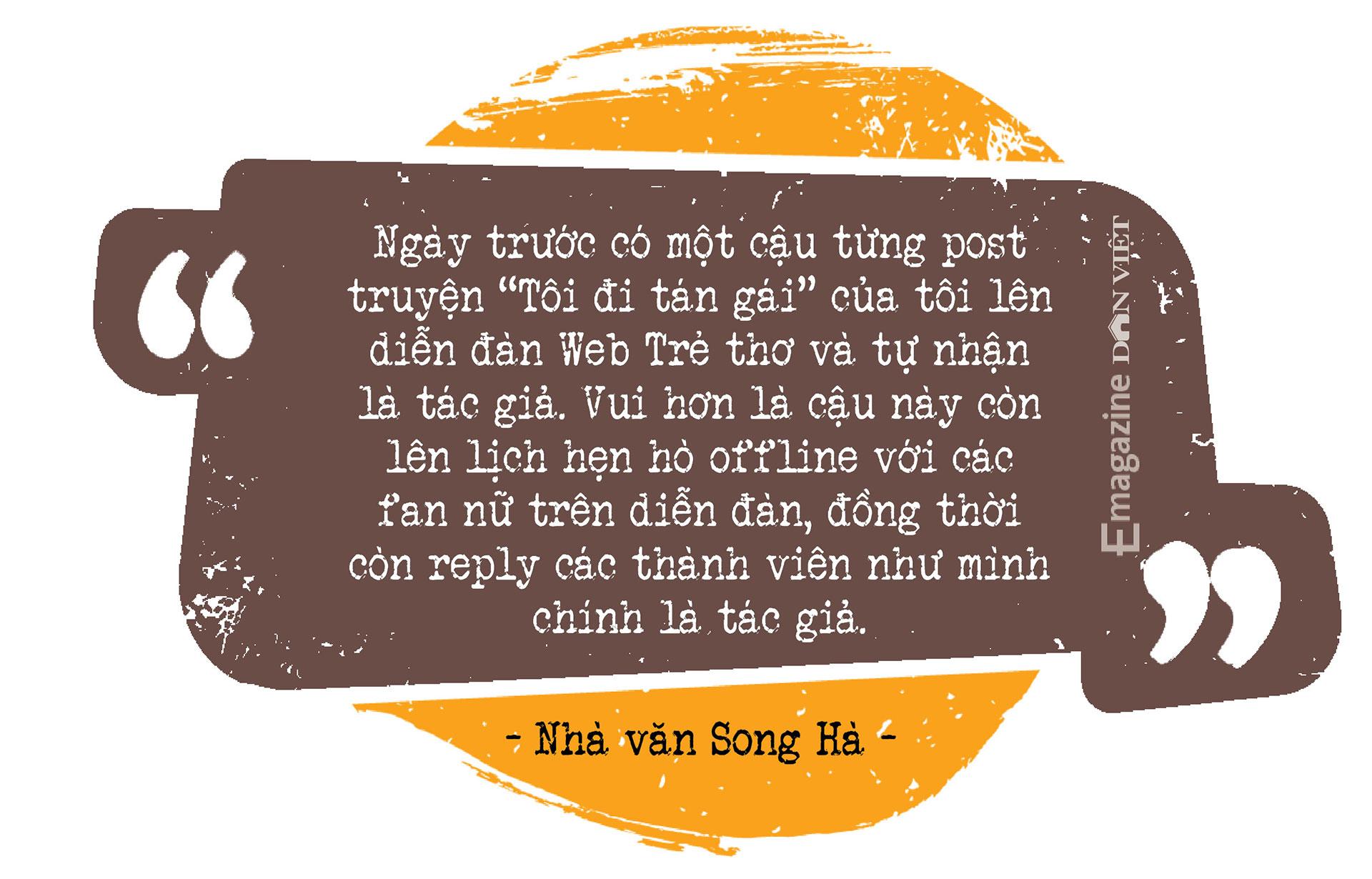 Cây bút văn học mạng Song Hà: Mảng đề tài đa cấp, đòi nợ… tôi viết dễ như thò tay vào túi lấy kẹo - Ảnh 4.
