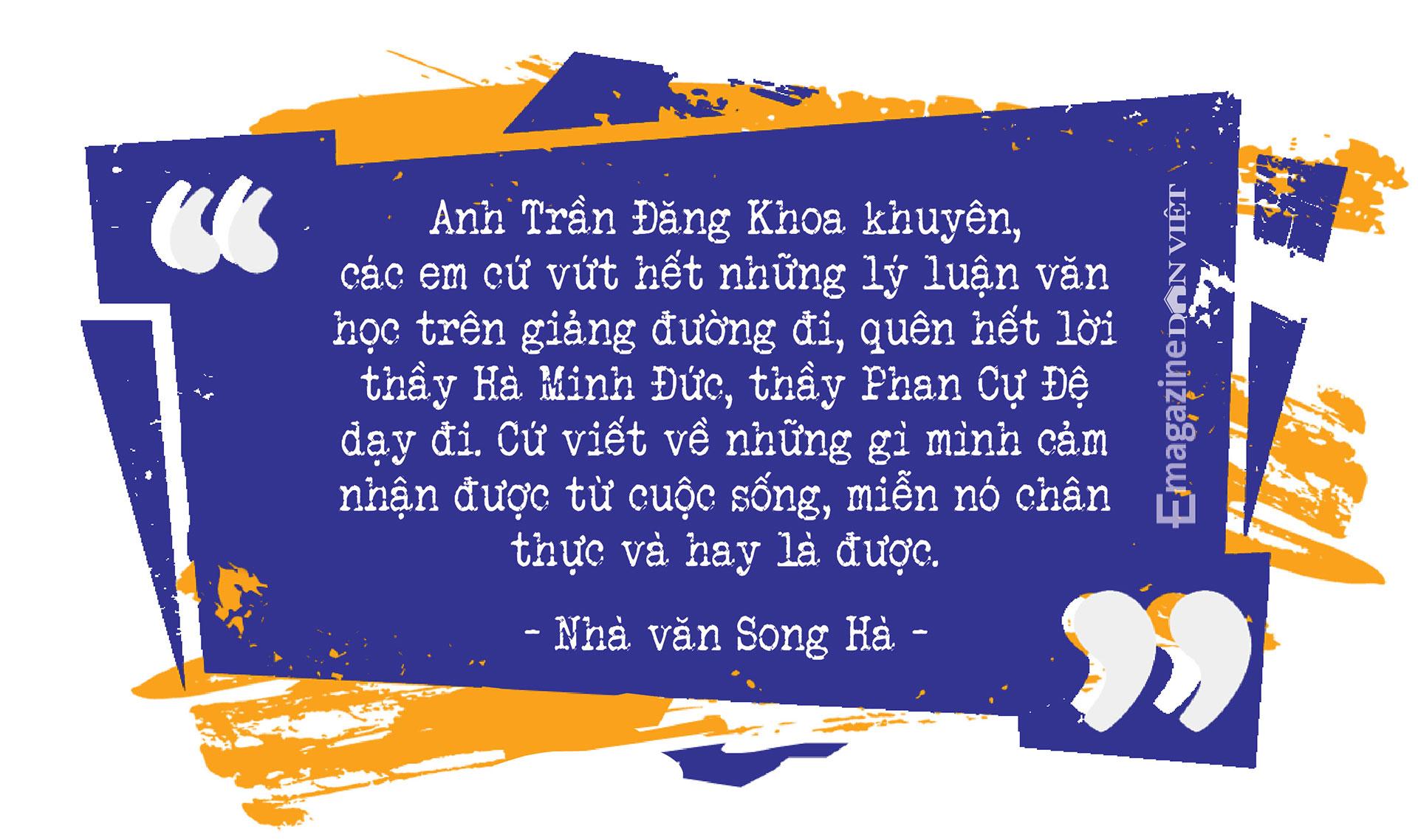 Cây bút văn học mạng Song Hà: Mảng đề tài đa cấp, đòi nợ… tôi viết dễ như thò tay vào túi lấy kẹo - Ảnh 7.