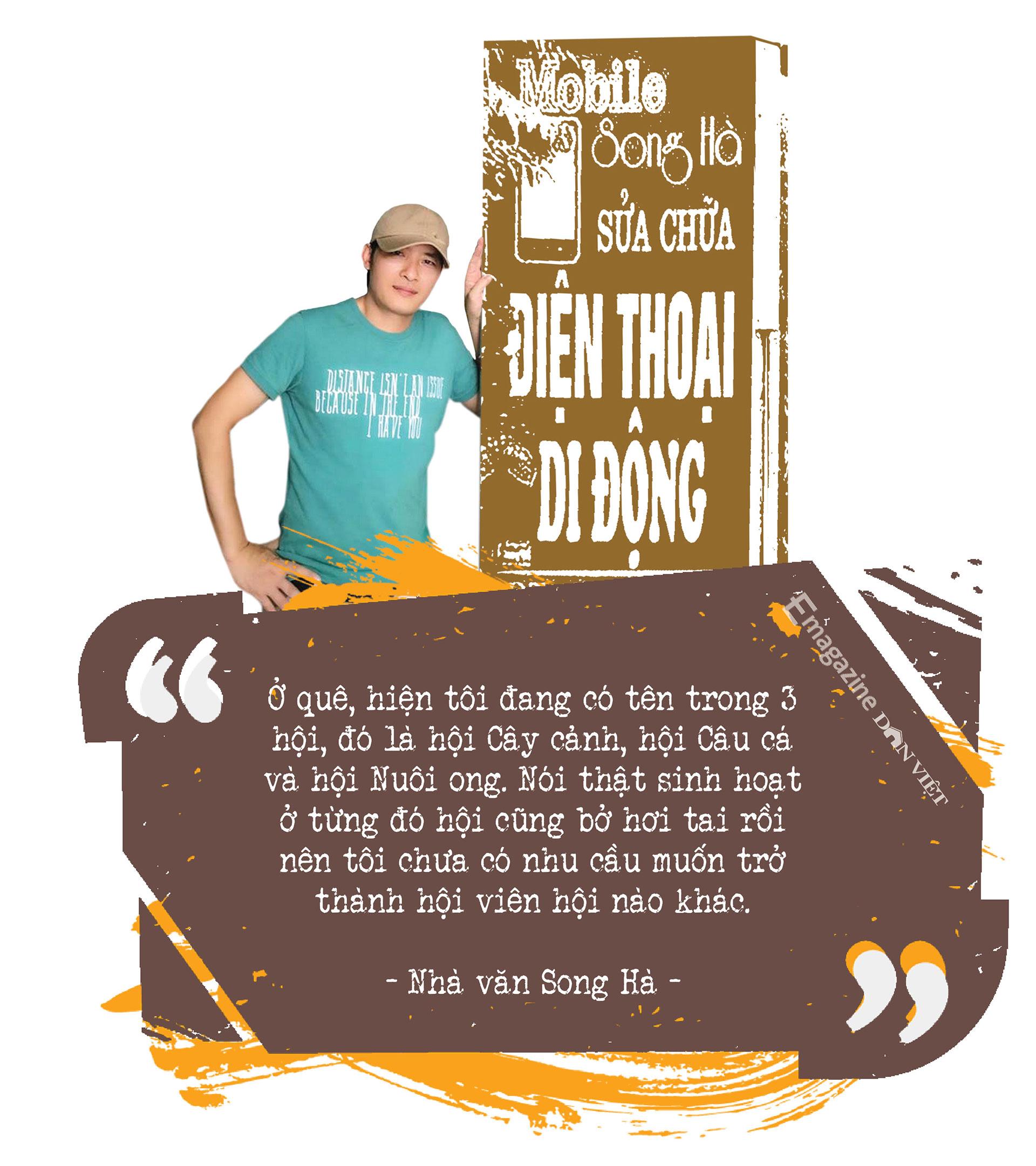 Cây bút văn học mạng Song Hà: Mảng đề tài đa cấp, đòi nợ… tôi viết dễ như thò tay vào túi lấy kẹo - Ảnh 19.