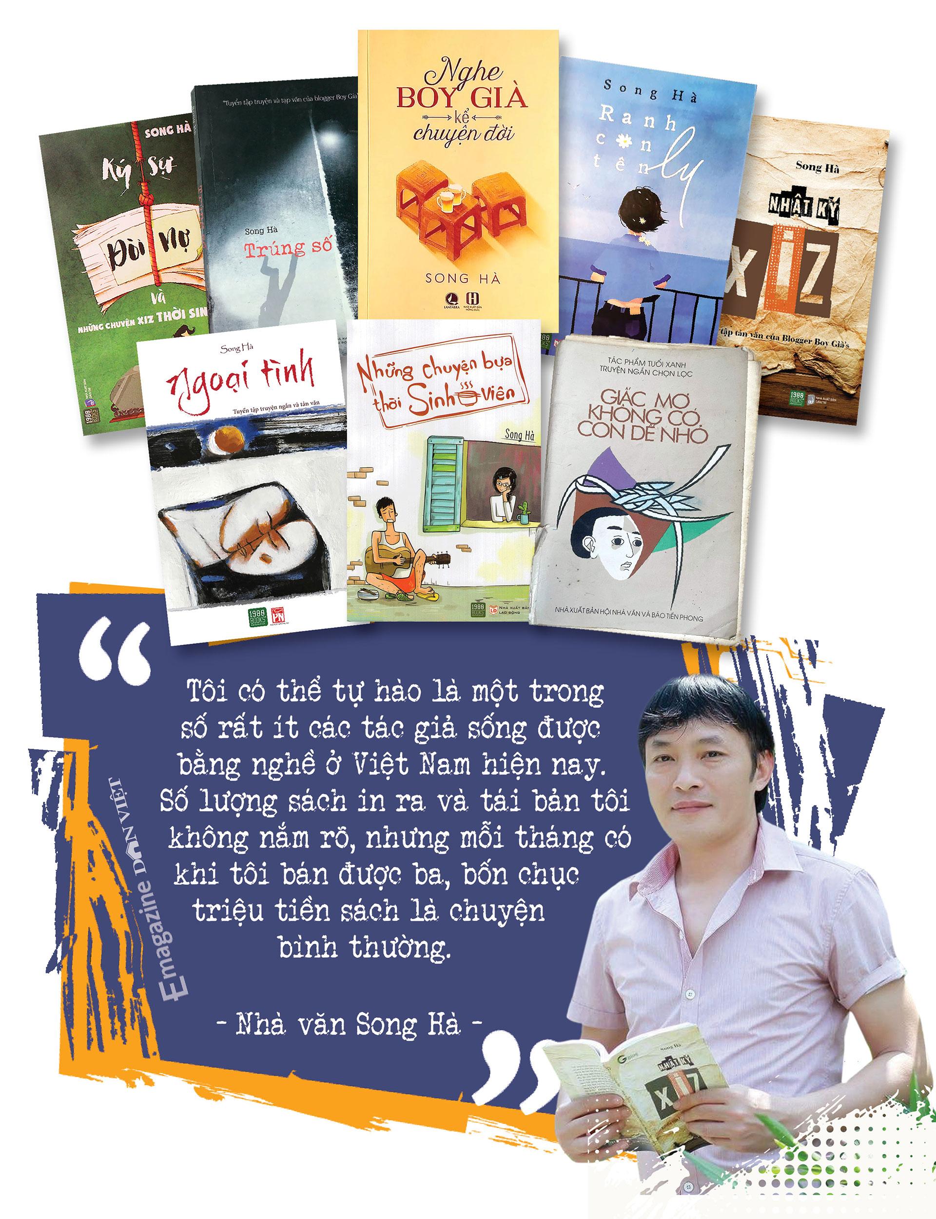 Cây bút văn học mạng Song Hà: Mảng đề tài đa cấp, đòi nợ… tôi viết dễ như thò tay vào túi lấy kẹo - Ảnh 21.