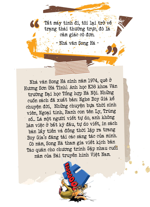 Cây bút văn học mạng Song Hà: Mảng đề tài đa cấp, đòi nợ… tôi viết dễ như thò tay vào túi lấy kẹo - Ảnh 23.