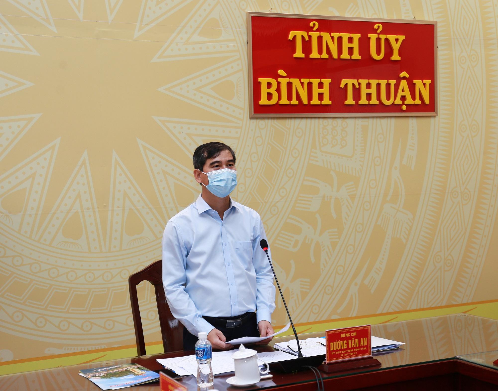 Bình Thuận: Khống chế dịch Covid - 19 và khẩn trương phục hồi, phát triển kinh tế  - Ảnh 3.