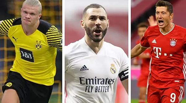 """Top 7 """"sát thủ"""" đáng sợ nhất châu Âu: Lewandowski không phải số 1 - Ảnh 1."""