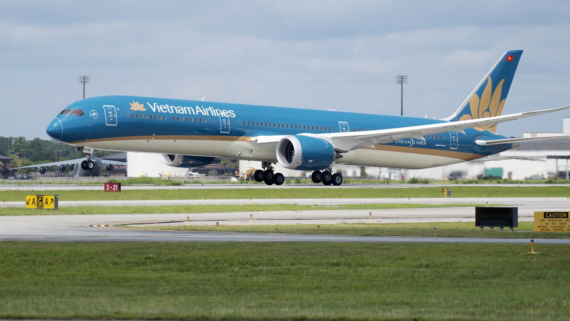 Vietnam Airlines bay thẳng Việt Nam - Hoa Kỳ, thời gian bay rút ngắn bao nhiêu? - Ảnh 1.