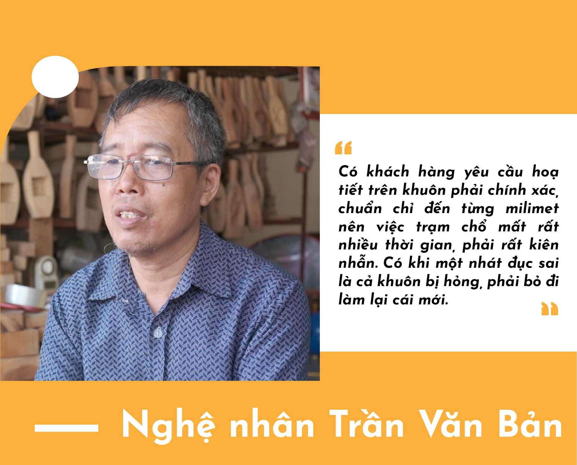 Nghệ nhân Trần Văn Bản: Gần nửa thế kỷ làm khuôn bánh trung thu truyền thống - Ảnh 7.