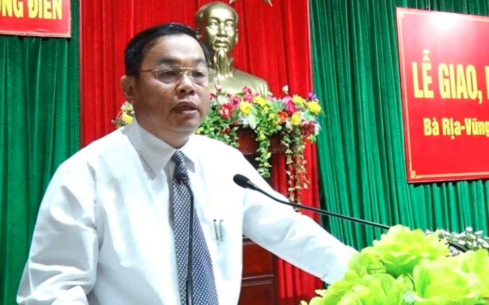 Chủ tịch huyện tại Bà Rịa - Vũng Tàu xin nghỉ việc trong mùa dịch Covid-19: Giải quyết thế nào?