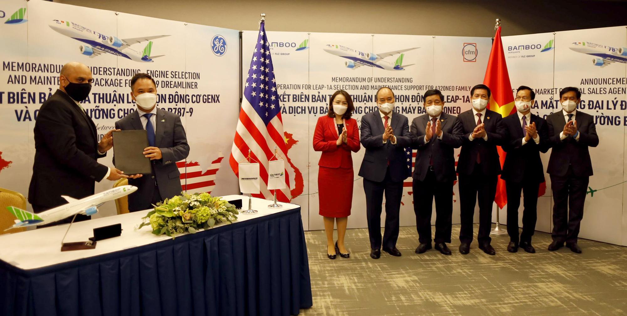 Bamboo Airways hợp tác với General Electric về động cơ máy bay 2 tỷ USD - Ảnh 2.