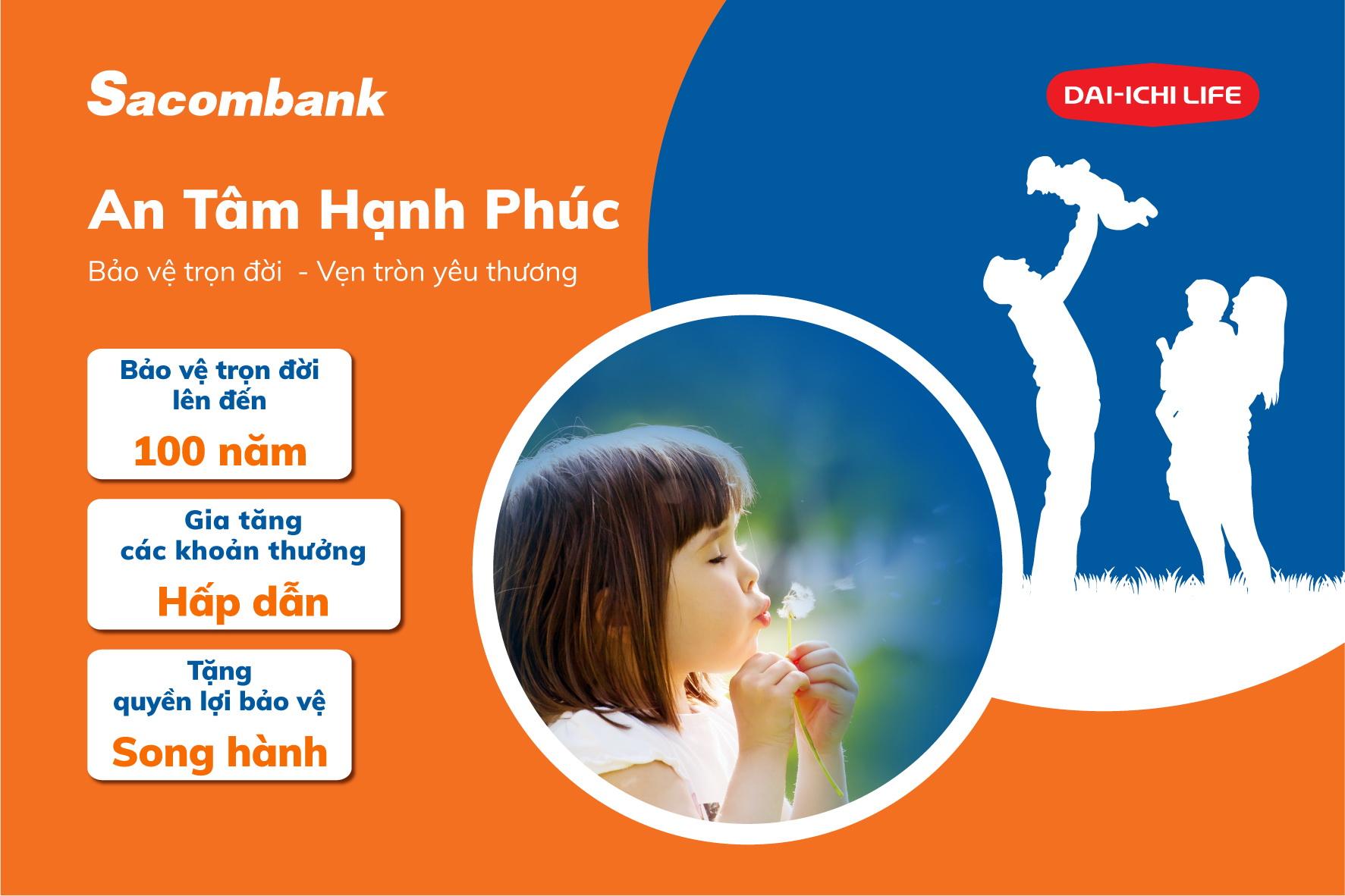 Kỷ niệm 4 năm hợp tác, Sacombank và Dai-ichi Life Việt Nam ra mắt 2 sản phẩm mới hiện đại - Ảnh 1.