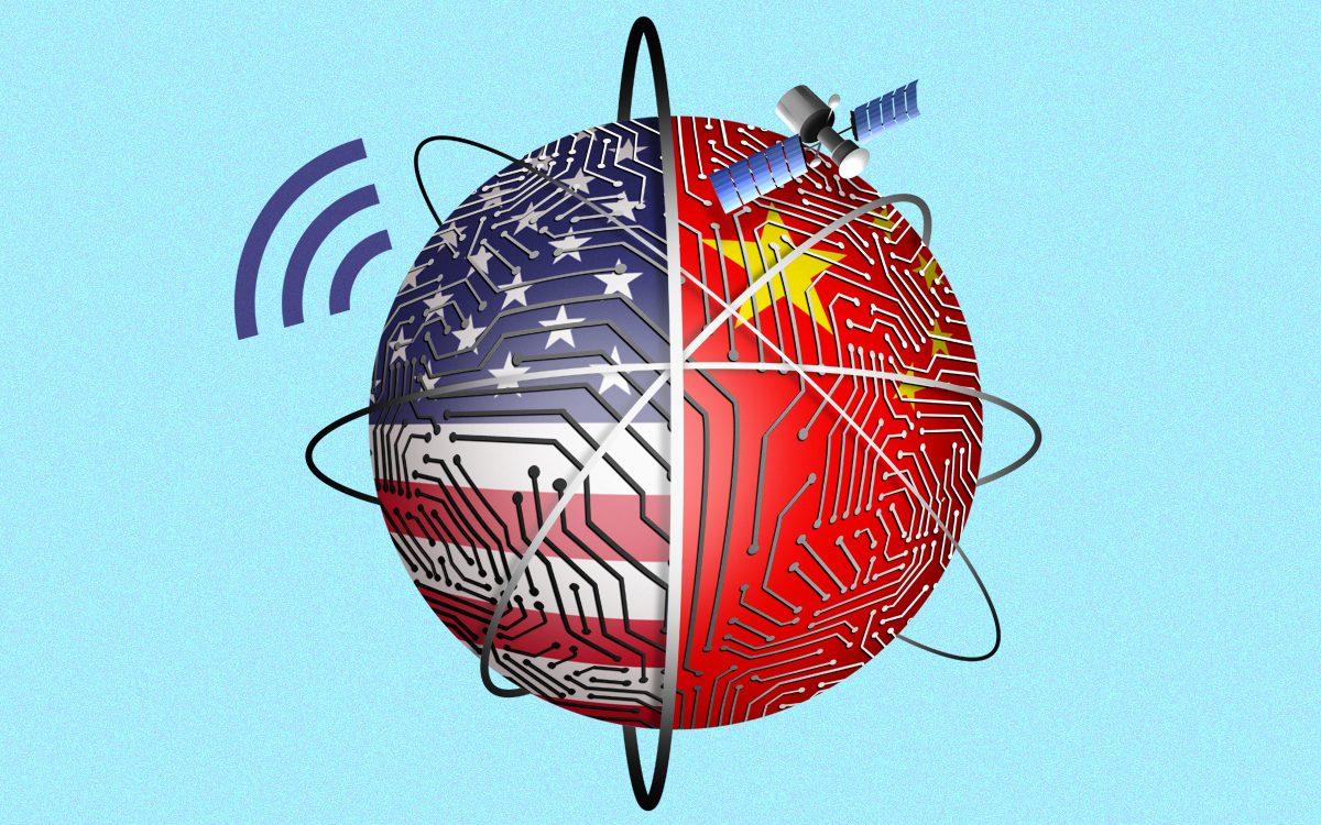 Căng thẳng chính trị đã làm suy giảm đầu tư vào ngành công nghệ hai chiều Mỹ - Trung Quốc. Ảnh: @AFP.