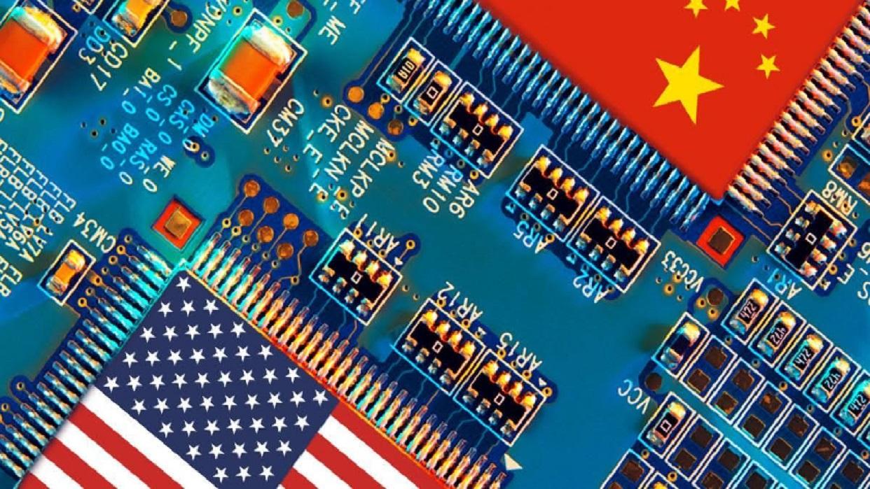 Dưới thời Donald Trump, Mỹ đã dẫn đầu một nỗ lực toàn cầu nhằm loại trừ lĩnh vực công nghệ của Trung Quốc khỏi các thị trường quốc tế quan trọng. Ảnh: @AFP.