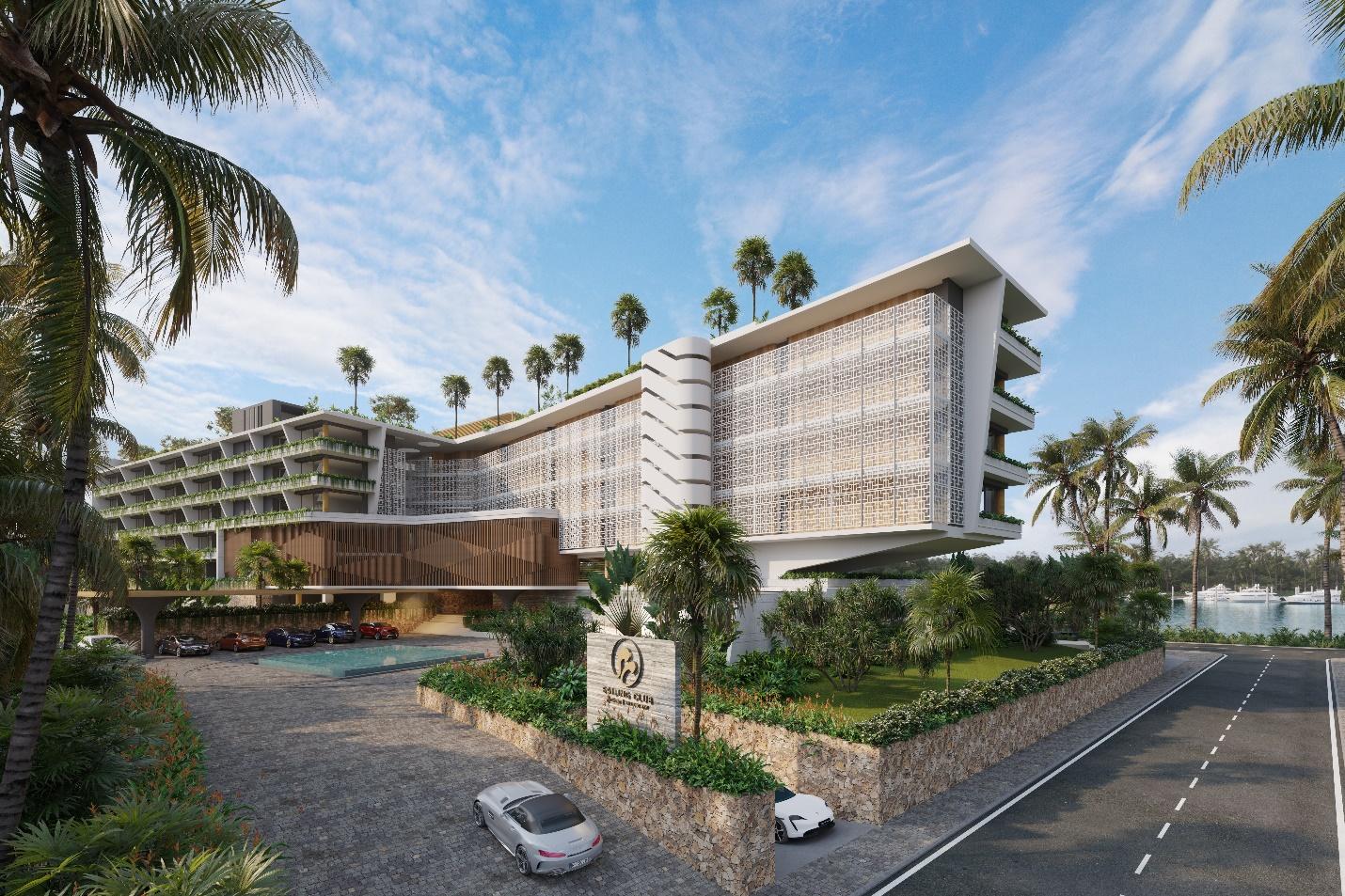 Thêm một dự án bất động sản nghỉ dưỡng hàng hiệu tại miền Bắc - Ảnh 1.