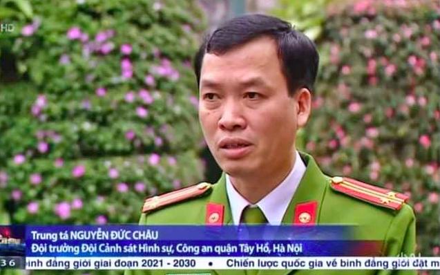 Tước danh hiệu Công an nhân dân với đại tá Phùng Anh Lê và Đội trưởng hình sự Công an quận Tây Hồ