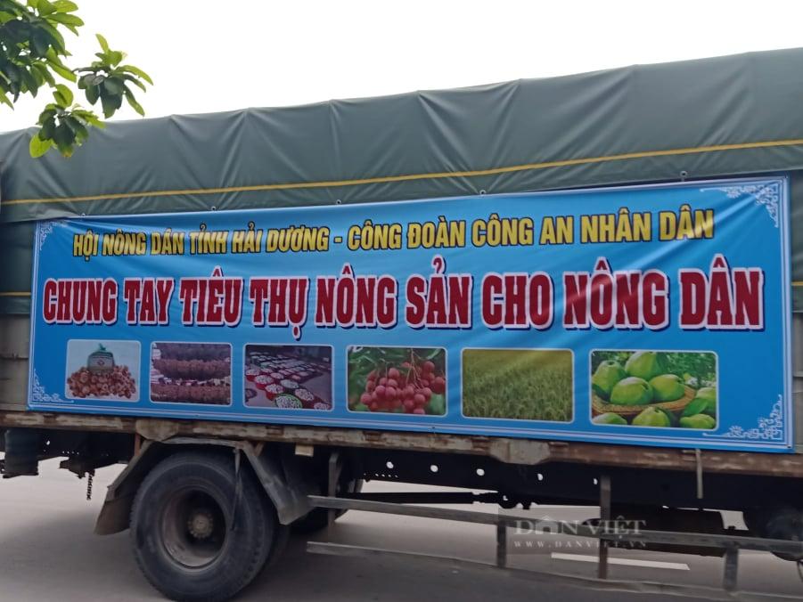 Hải Dương: Hàng chục tấn nông sản được Hội nông dân chung tay tiêu thụ vào thị trường Hà Nội - Ảnh 1.