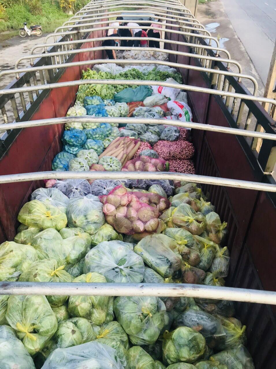 Hội Nông dân Sơn La hỗ trợ trên 100 tấn nông sản cho các tỉnh, thành phố chống dịch - Ảnh 1.
