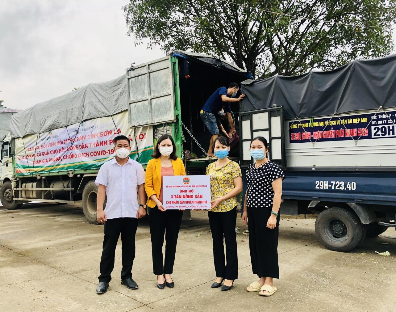 Hội Nông dân Sơn La hỗ trợ trên 100 tấn nông sản cho các tỉnh, thành phố chống dịch - Ảnh 4.