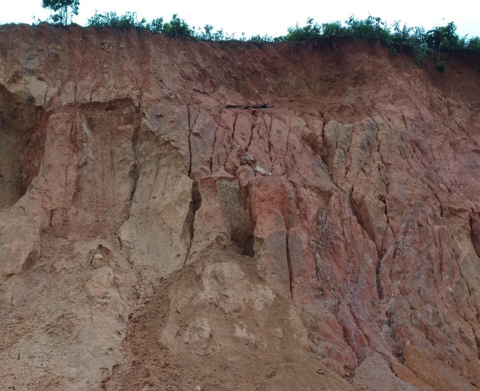 Lâm Đồng: 3 cháu bé bị đất cát vùi lấp tử vong khi chơi trò đào hầm trú ẩn - Ảnh 1.