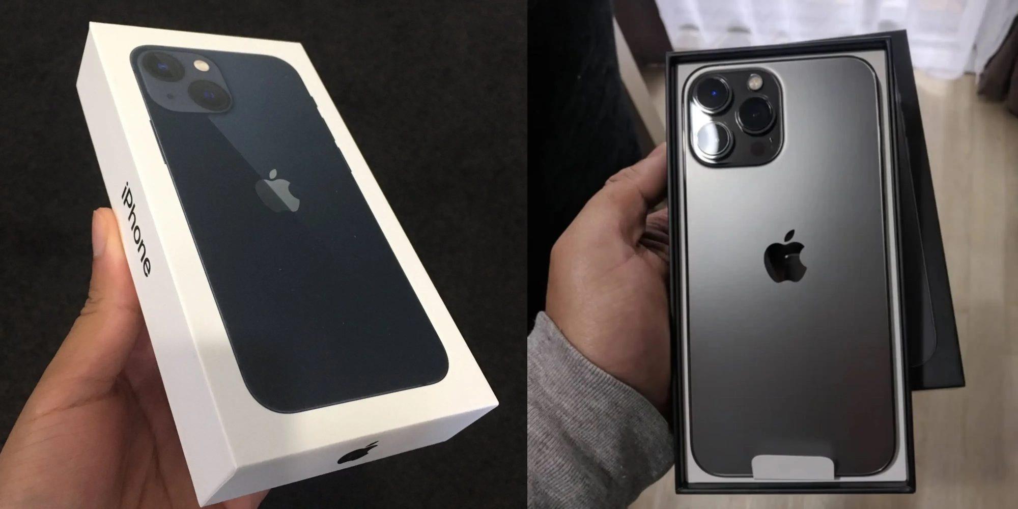 Hôm qua 24/9, Apple chính thức mở bán bộ bốn mẫu iPhone 13 mới tại một số quốc gia có Apple Store. Ảnh: @AFP.