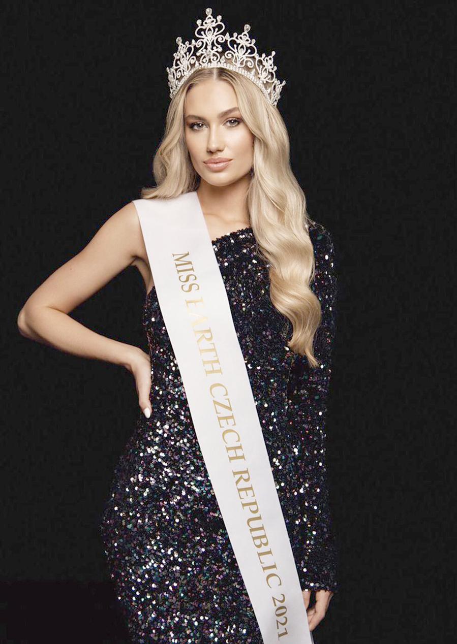 Nhan sắc xinh đẹp của tân Hoa hậu Trái đất Cộng hòa Czech 2021 - Ảnh 1.