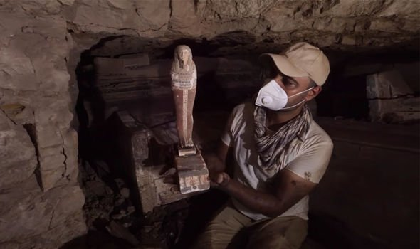 """Phát hiện ra hầm mộ Ai Cập ẩn chứa bí mật về """"ngành công nghiệp chết chóc"""" - Ảnh 2."""