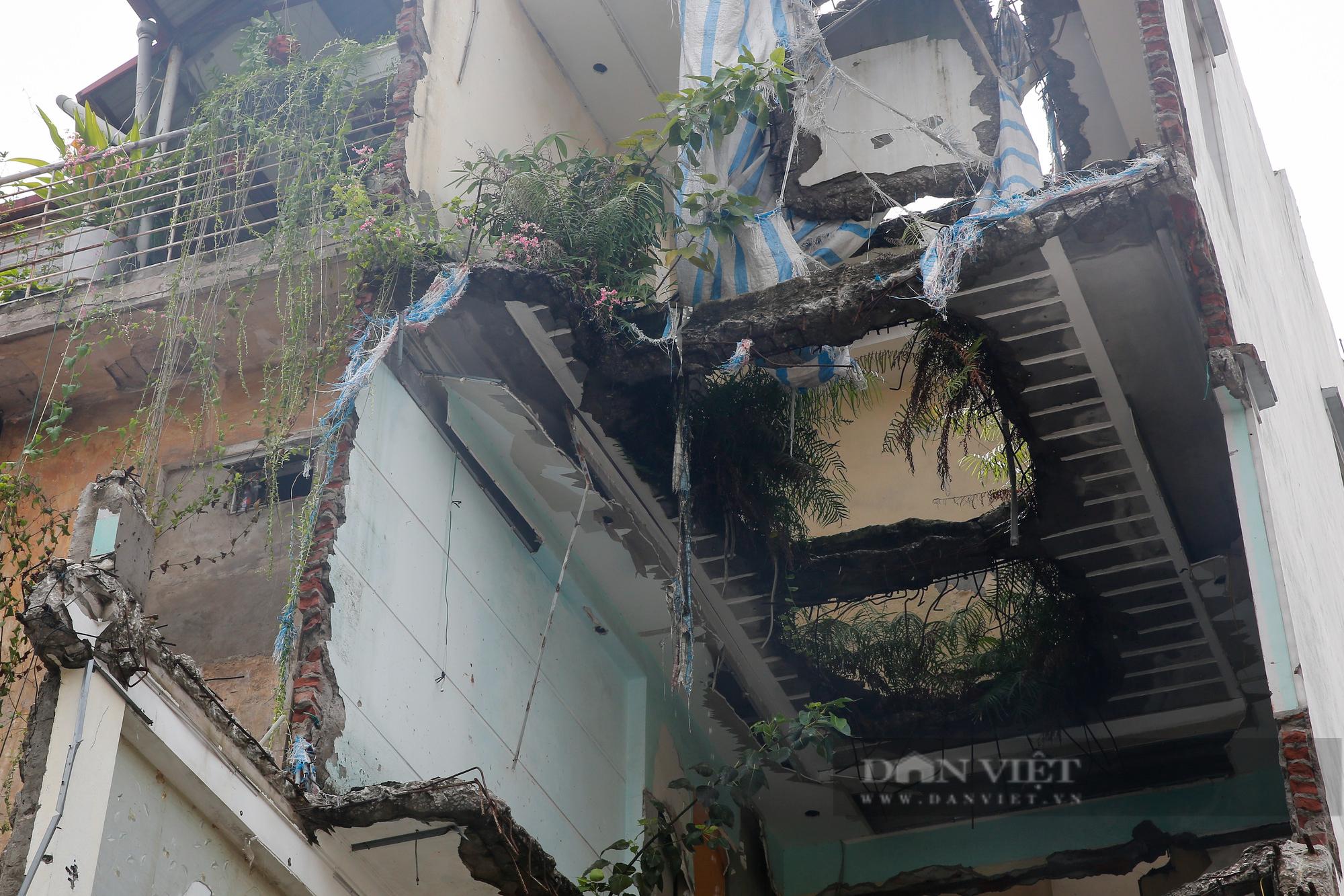 Cận cảnh khu vực ga ngầm tuyến Metro Nhổn - ga Hà Nội bị dừng thi công - Ảnh 7.