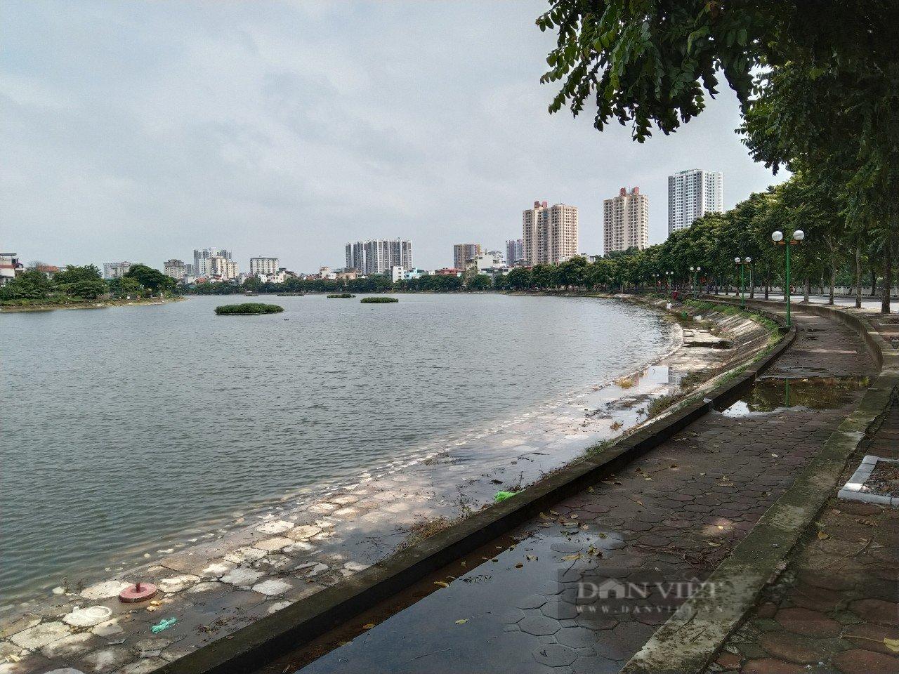 Hà Nội: Hàng trăm người câu cá tại hồ Định Công, ai chịu trách nhiệm? - Ảnh 3.