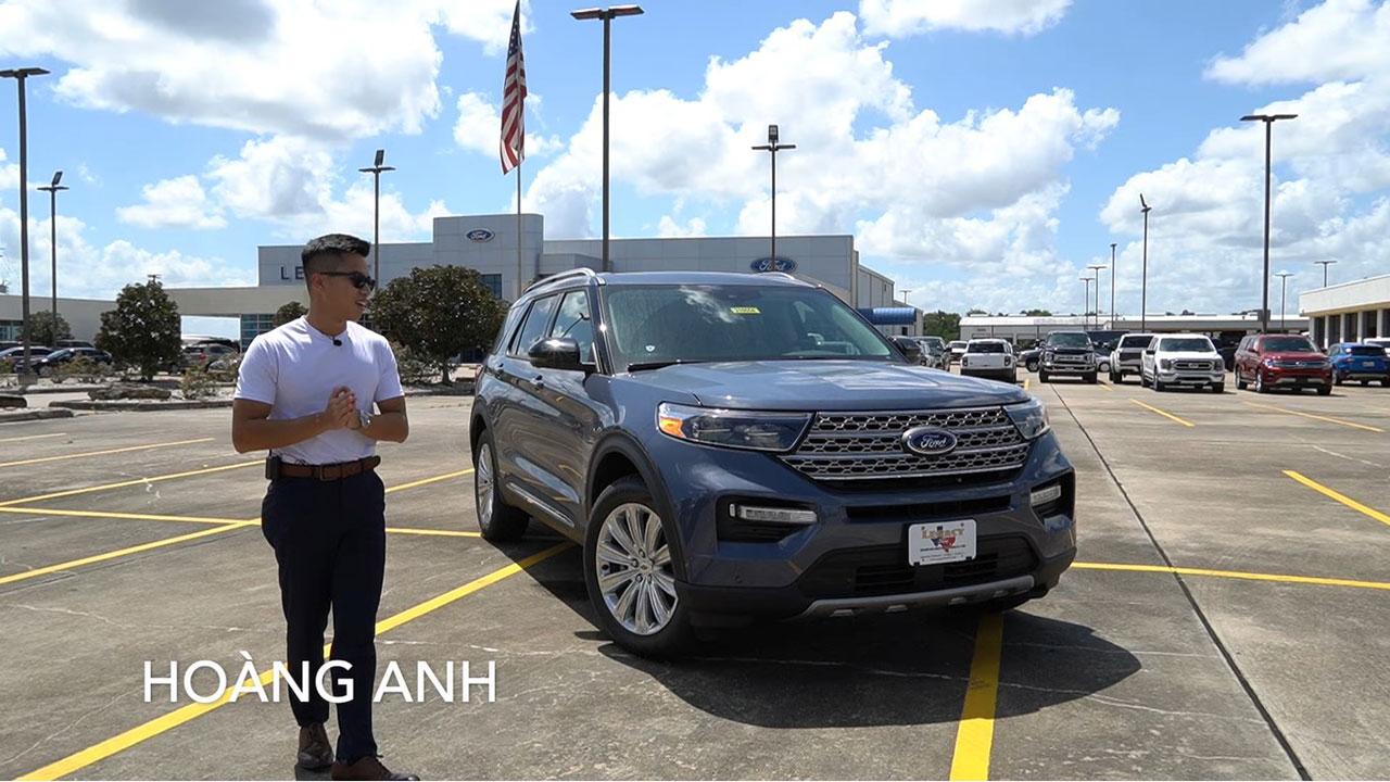 Người Việt trải nghiệm chi tiết Ford Explorer 2022 sắp bán ở Việt Nam - Ảnh 1.