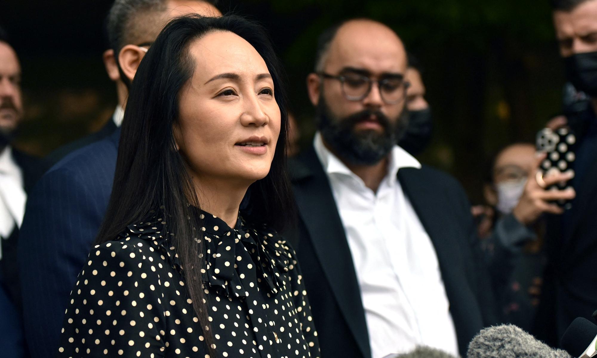 """""""Công chúa Huawei"""" được trả tự do sau 1.028 ngày bị quản thúc, sẽ về đến Trung Quốc vào tối nay - Ảnh 1."""