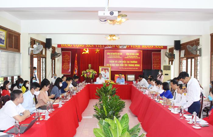 Bộ trưởng, Chủ nhiệm UBDT Hầu A Lềnh: Cần tính đến bài toàn quy hoạch hệ thống các thường phổ thông dân tộc nội trú - Ảnh 1.