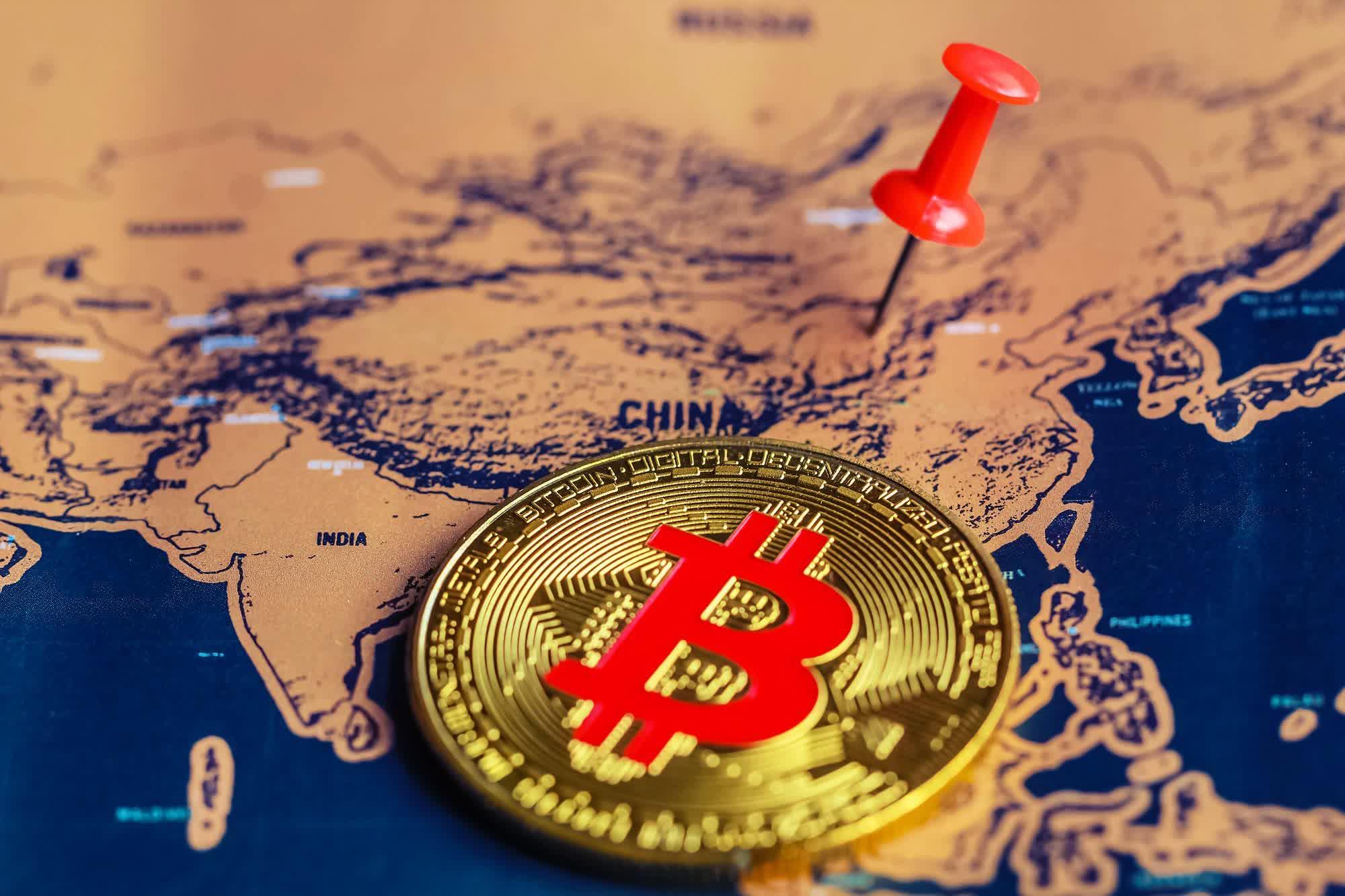 Kể từ hồi giữa tháng 5, đây là lần thứ hai Trung Quốc đưa ra tuyên bố mạnh mẽ nhằm trấn áp hoạt động đào và giao dịch tiền ảo ở đất nước tỷ dân. Ảnh: @AFP.