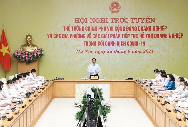 Bộ trưởng Nguyễn Chí Dũng: Hàng nghìn tỷ đồng đã và đang hỗ trợ doanh nghiệp - Ảnh 1.