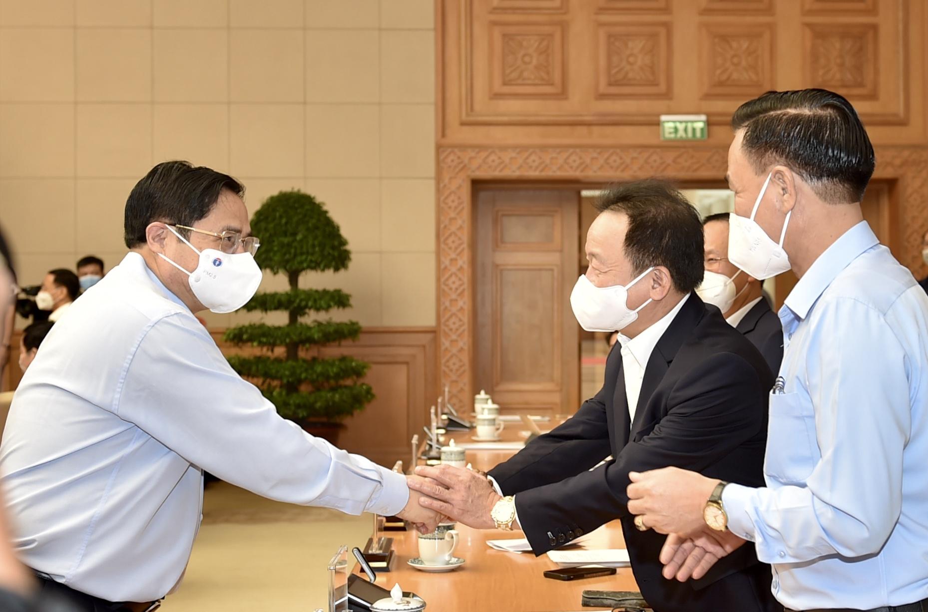 """Thủ tướng Phạm Minh Chính: Cố gắng đồng hành với doanh nghiệp, trên tinh thần """"3 không, 5 thật"""" - Ảnh 1."""