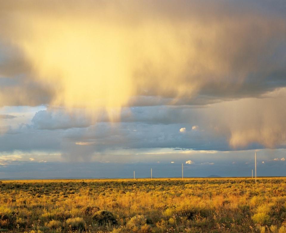 Kỳ lạ cánh đồng 1 km2 dành cho du khách xem sét đánh sáng trời ở Mỹ - Ảnh 4.