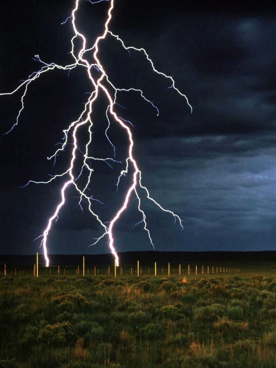 Kỳ lạ cánh đồng 1 km2 dành cho du khách xem sét đánh sáng trời ở Mỹ - Ảnh 6.