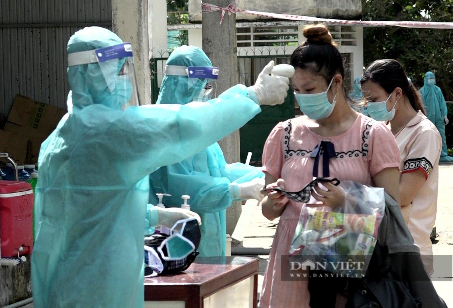 An Giang đón 233 phụ nữ mang thai và người già từ các địa phương có dịch trở về  - Ảnh 1.