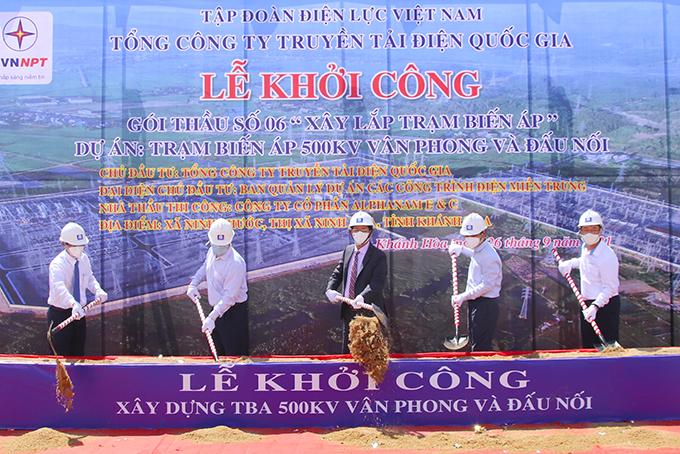 Khánh Hòa: Khởi công trạm biến áp 500kV và đấu nối, với tổng vốn đầu tư trên 1.000 tỷ đồng - Ảnh 1.