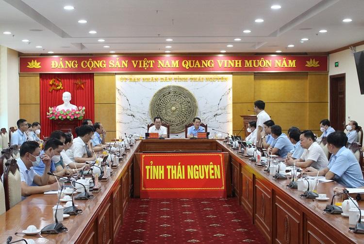 Ông Hầu A Lềnh, Bộ trưởng, Chủ nhiệm Ủy ban Dân tộc của Chính phủ làm việc với Ủy ban nhân dân tỉnh Thái Nguyên - Ảnh 1.