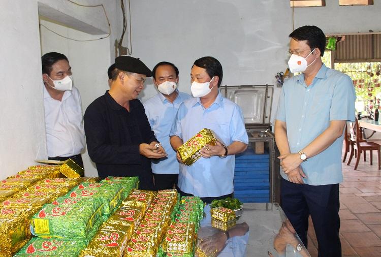 Ông Hầu A Lềnh, Bộ trưởng, Chủ nhiệm Ủy ban Dân tộc của Chính phủ làm việc với Ủy ban nhân dân tỉnh Thái Nguyên - Ảnh 5.