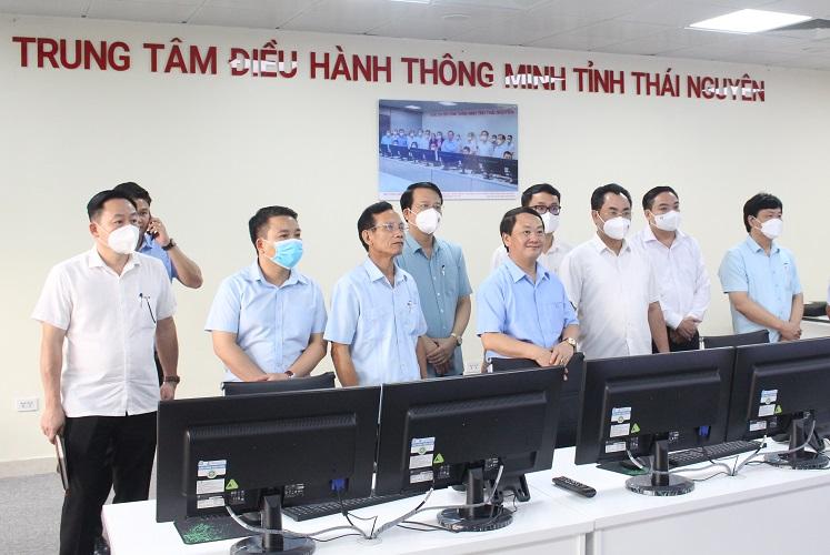 Ông Hầu A Lềnh, Bộ trưởng, Chủ nhiệm Ủy ban Dân tộc của Chính phủ làm việc với Ủy ban nhân dân tỉnh Thái Nguyên - Ảnh 3.