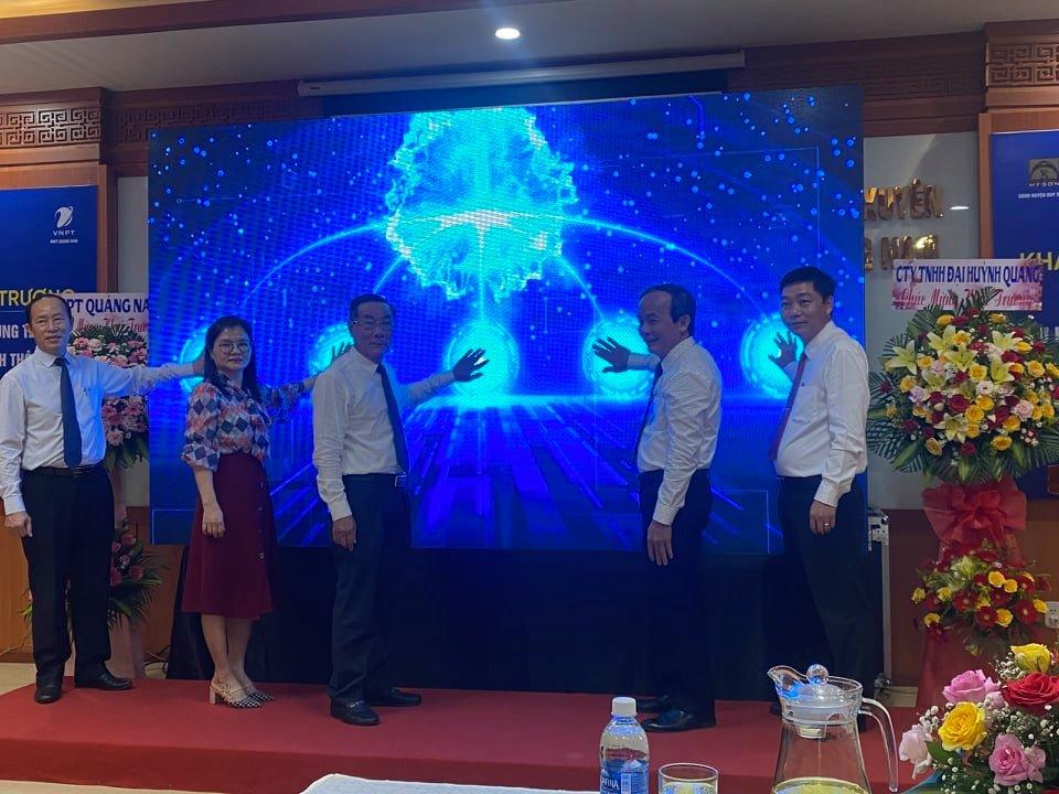 Quảng Nam: Xây dựng Trung tâm Điều hành thông minh nhằm nâng cao năng lực trong hoạt động quản lý, điều hành - Ảnh 1.