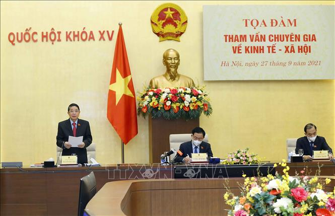 Chủ tịch Quốc hội chủ trì Tọa đàm tham vấn chuyên gia về kinh tế - xã hội - Ảnh 2.
