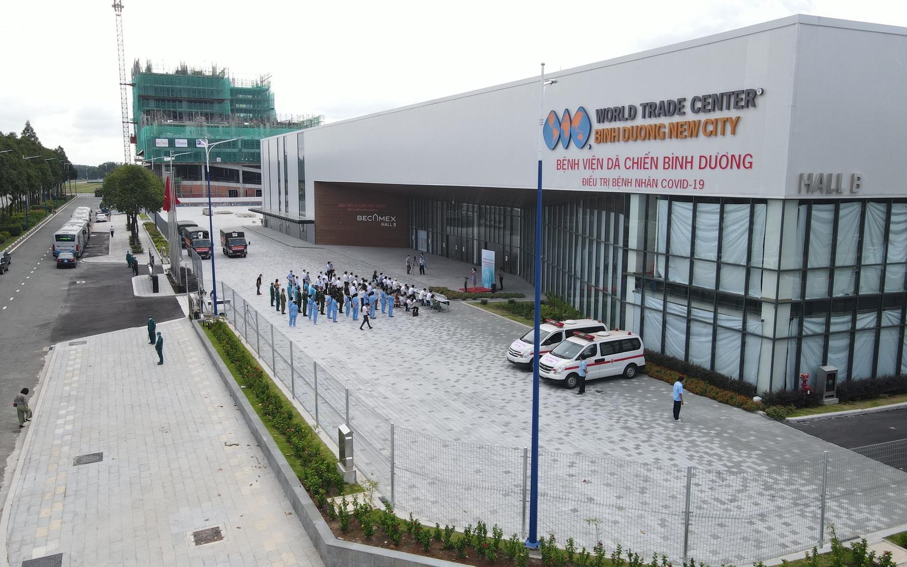 Bình Dương: Bệnh viện dã chiến điều trị Covid-19 sẽ như thế nào sau ngày 30/9?