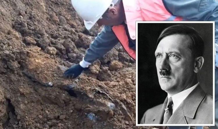 """Các nhà khảo cổ tìm thấy """"siêu vũ khí"""" của Hitler được chôn cách đây 77 năm - Ảnh 1."""