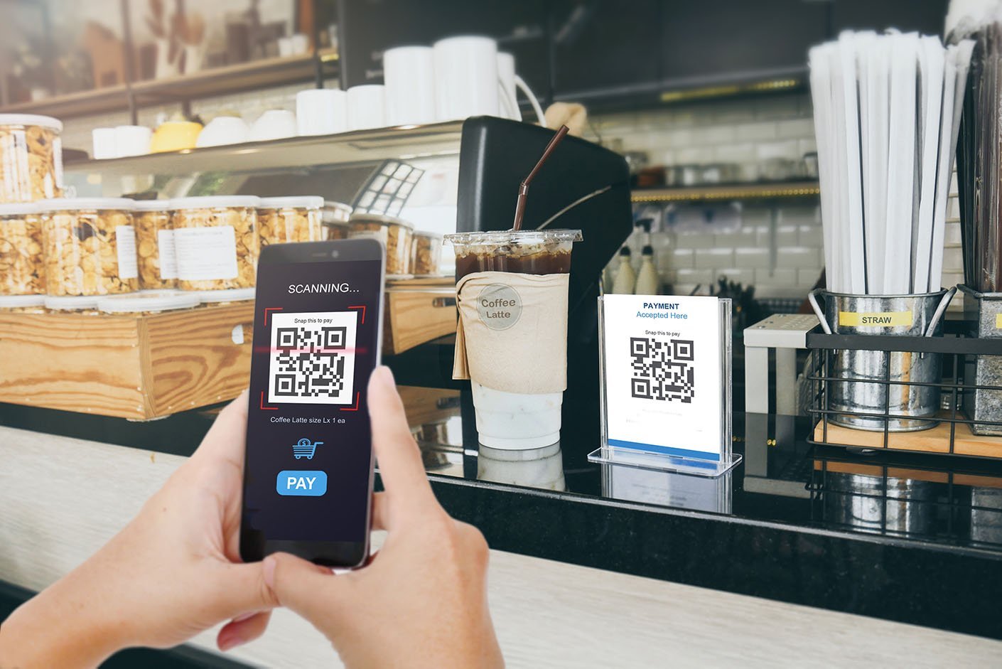 Tốc độ áp dụng công nghệ tiêu dùng mới theo cấp số nhân khiến các xu hướng trở nên khó dự đoán, nhưng ngành công nghiệp nhà hàng được kỳ vọng sẽ chứng kiến sự thích nghi sáng tạo nhanh chóng. Ảnh: @AFP.