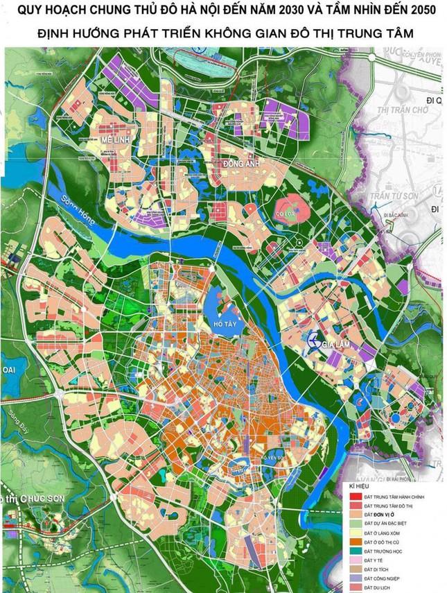 Hà Nội điều chỉnh tổng thể Quy hoạch chung xây dựng Thủ đô đến năm 2030 và tầm nhìn đến năm 2050 - Ảnh 1.