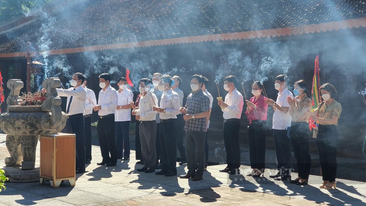 Lễ hội Lam Kinh 2021 không tổ chức phần hội, bảo đảm an toàn phòng chống dịch Covid-19 - Ảnh 1.