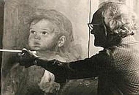 """Vì sao bức tranh """"Cậu bé khóc"""" khiến tất cả mọi vật bị thiêu rụi? - Ảnh 3."""