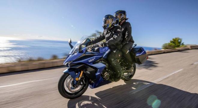 Suzuki GSX-S1000GT 2022 - mô tô phân khối lớn mới ra mắt có gì đặc biệt? - Ảnh 2.